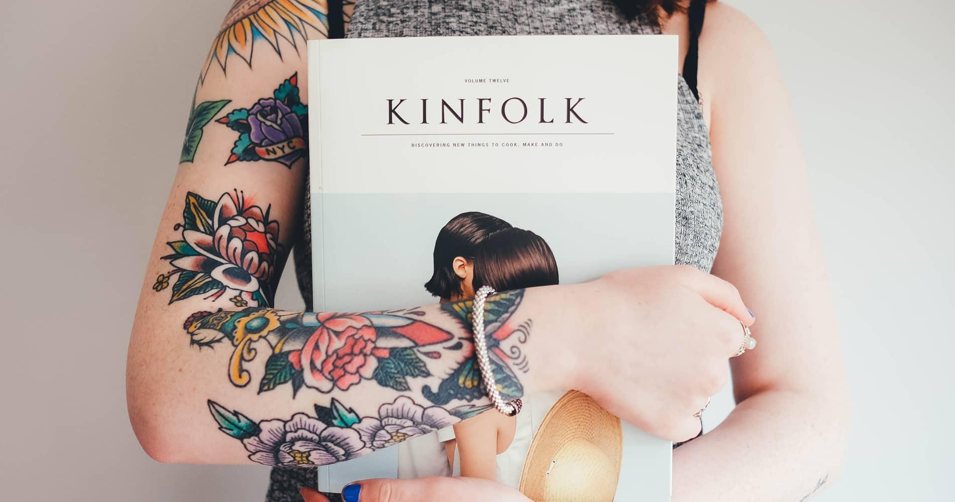 Maiores tendências de tatuagem entre as mulheres em 2017