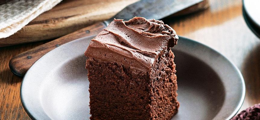 Bolo de chocolate de micro-ondas fácil