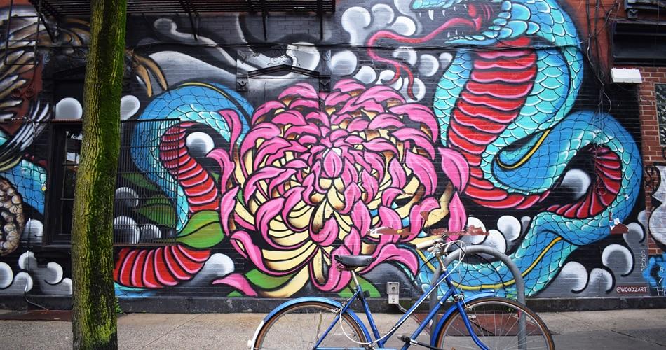 Grafite, a mais urbana das artes visuais