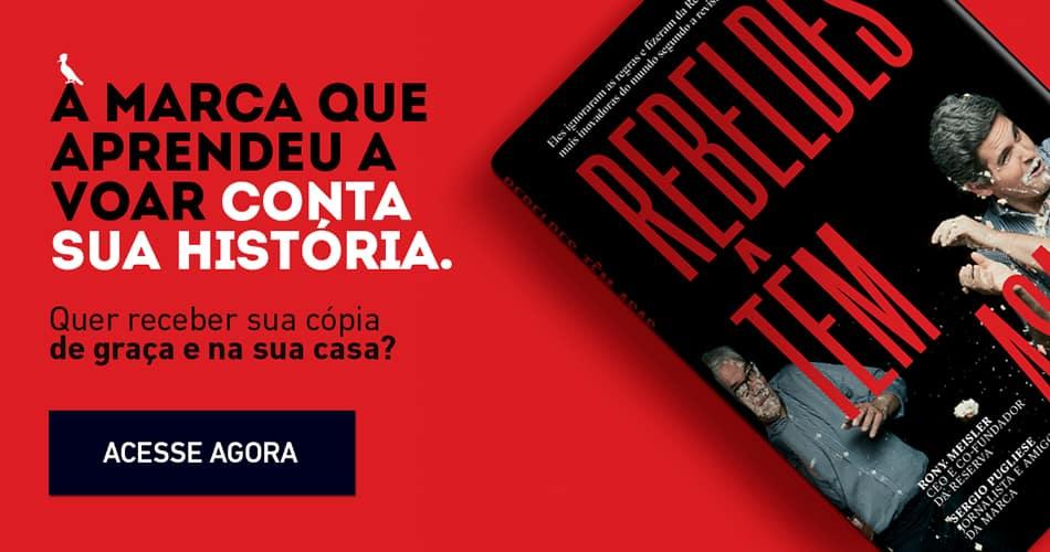 Livro Rebeldes Têm Asas