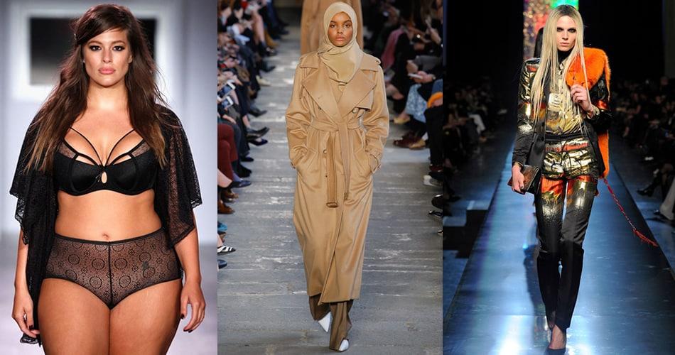 5 modelos que desafiam padrões e levam diversidade para a moda