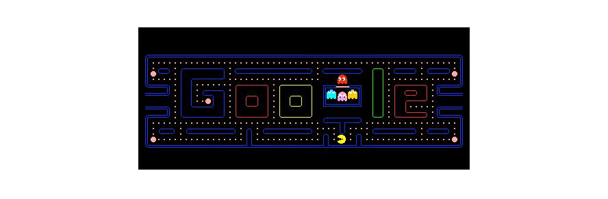 Doodle 30º aniversário do PAC-MAN