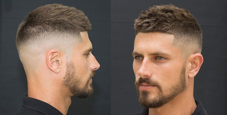 High fade corte cabelo masculino