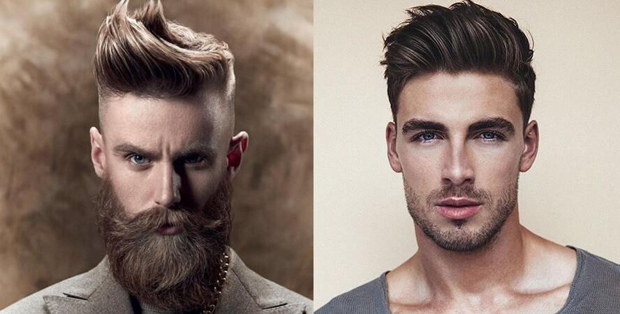 Quiff corte cabelo masculino