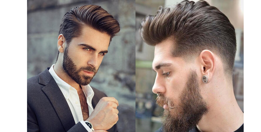 Topete corte cabelo masculino
