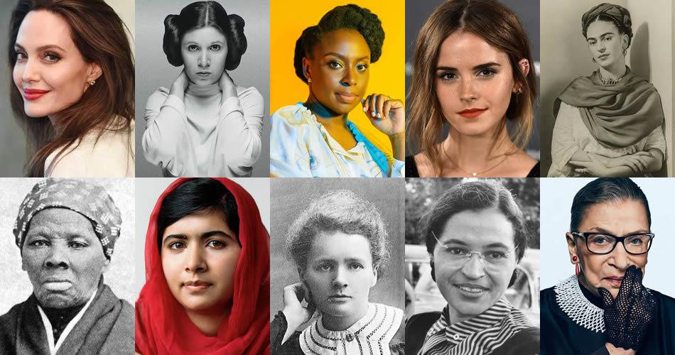 10 mulheres fortes e independentes que representam a luta do feminismo
